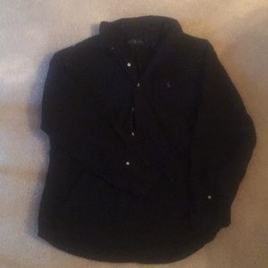 Men's black Polo button down